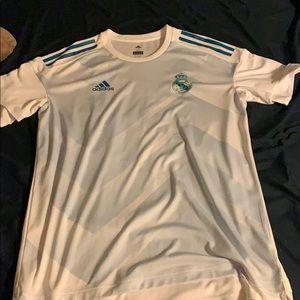 Men's Real Madrid soccer jersey